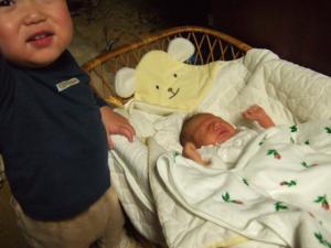 チビたんと赤ちゃん2
