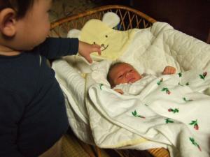 チビたんと赤ちゃん
