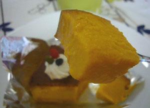 かぼちゃプリン3