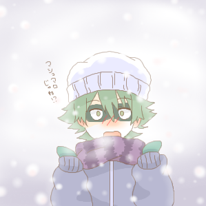 雪マシュマロ