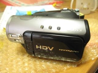 というわけで復活したHDR-HC3