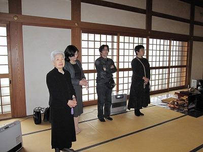川島お祖母ちゃん33回忌20110403 (14)