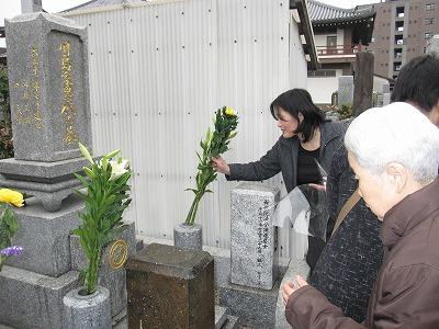 川島お祖母ちゃん33回忌20110403 (13)