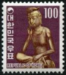 韓国・弥勒菩薩(100ウォン)