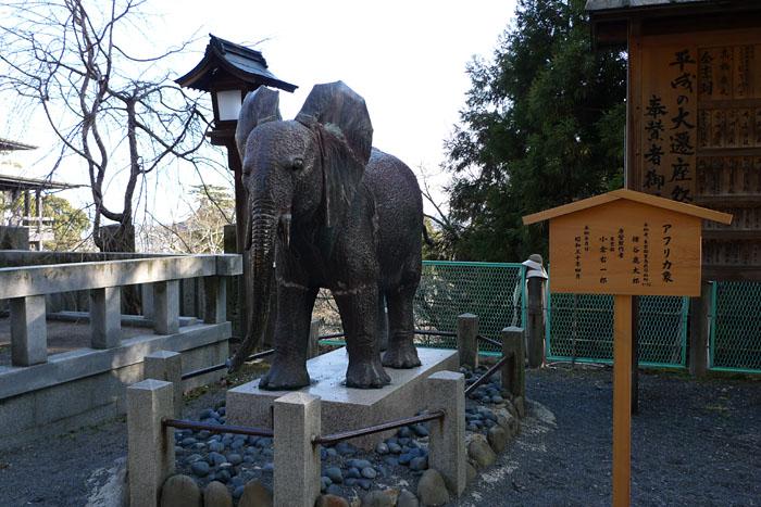 アフリカ象 こんぴらさん 日之本元極