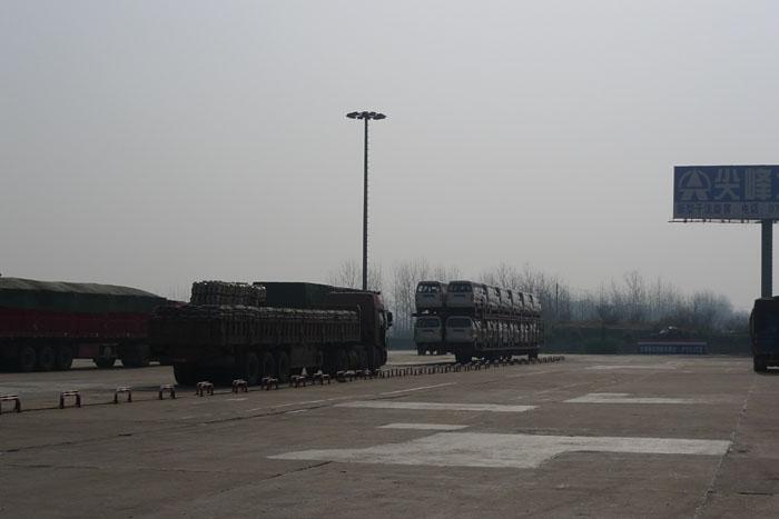中国 高速道路 ガソリンスタンド