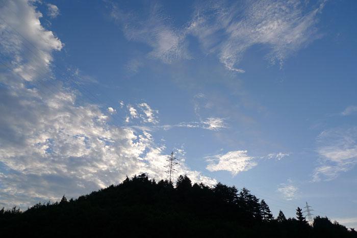 秋の空 ひだ 高山 日之本元極
