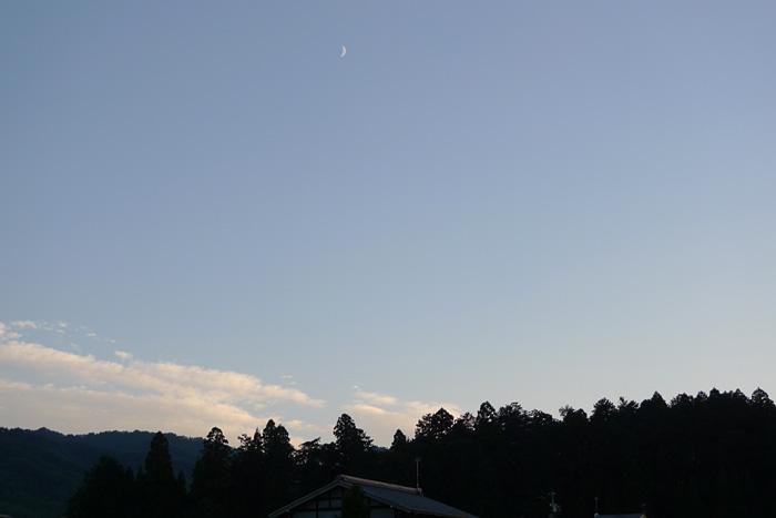 秋の夕景 飛騨 高山 日之本元極