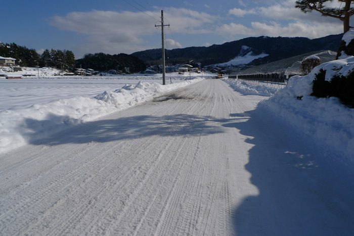 ひだ 高山 雪景色 日之本元極  大雪