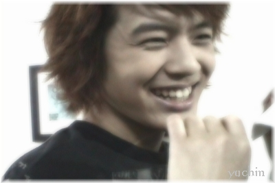 His smile.20090707