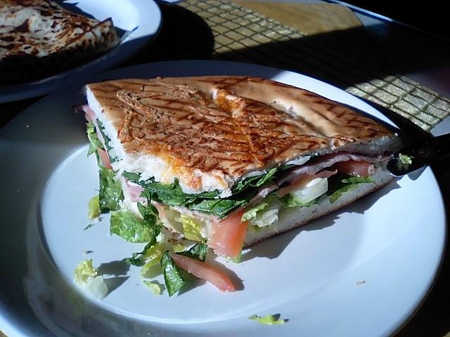 ホット野菜サンド