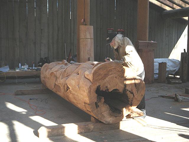 グランビルアイランド木工芸