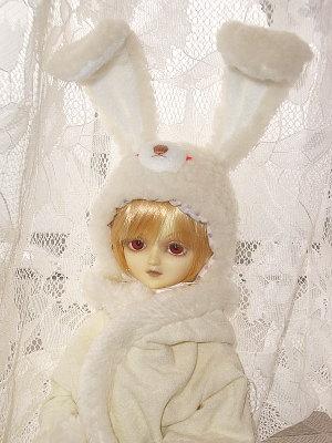 雪兎帽子4