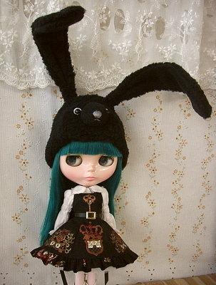 プリセスアラモードと黒兎帽子