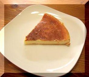 手作りチーズケーキ♪