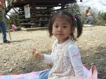 3歳のときのChiho