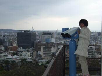紀三井寺の高台から