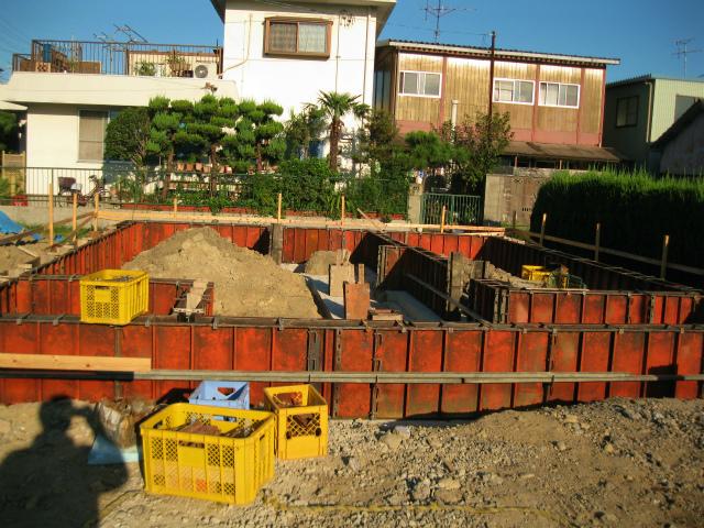 工事の進捗(9月15日)朝ー1