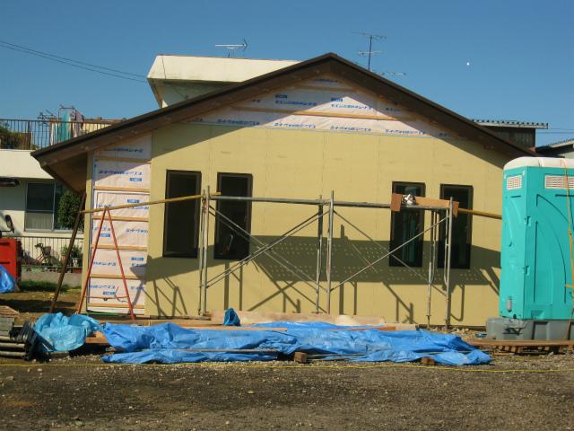工事の進捗(10月31日)1