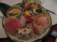 造り:季節の魚大鉢盛り