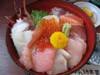 海鮮丼アップ