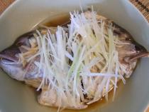 鯛のカブト中華蒸し