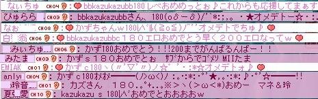 かずちゃん180103