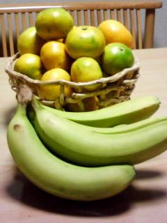 みかんとバナナ