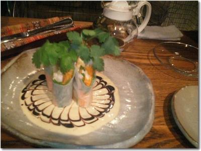 野菜ととりわさの生春巻き