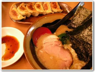 ラーメン餃子♪