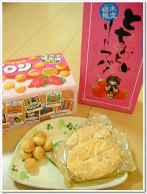 いちごのお菓子各種☆
