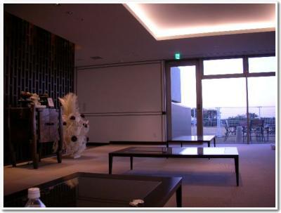 1階の休憩所