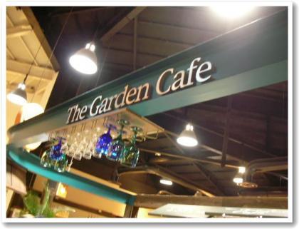 ガーデンカフェ♪