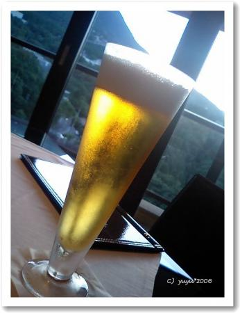 アニキのビールw