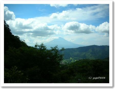 富士山もきれいでした♪