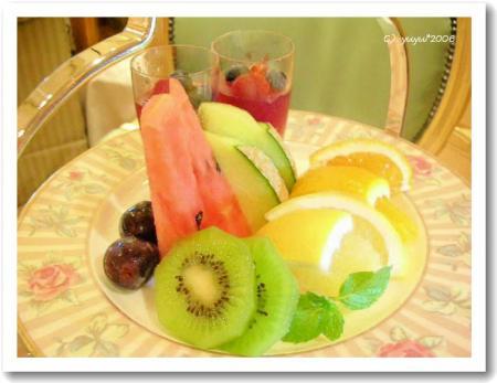 フルーツ盛り合わせ