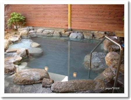 石の湯・露天風呂