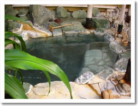 石の湯・露天風呂その2