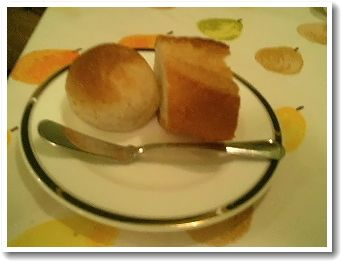 パンは熱かった(´・ω・`)