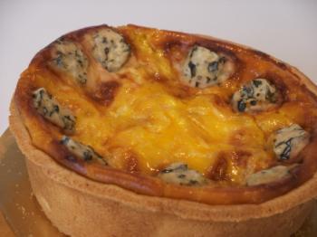 ブルーチーズのタルトです!