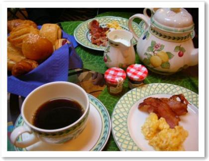 サンシュルピスの朝食