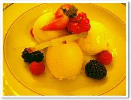 アイスクリーム盛り合わせ・・w