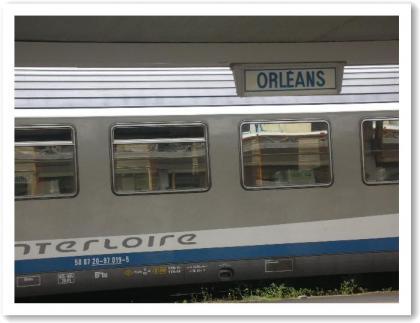 オルレアンからパリへ・・