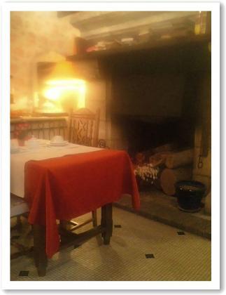暖炉があります!