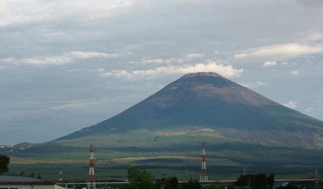 葉月・最後の富士山