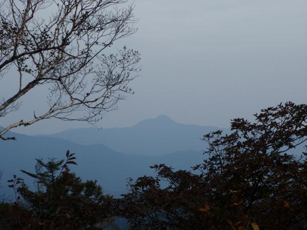 展望台からの大岳山