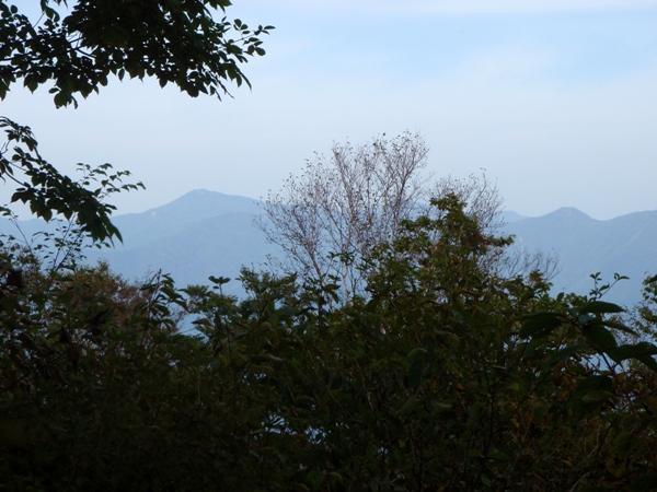 雲取山、鷹巣山方面