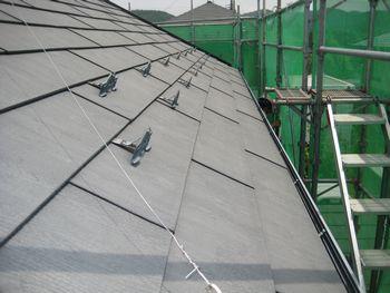 屋根塗装前1