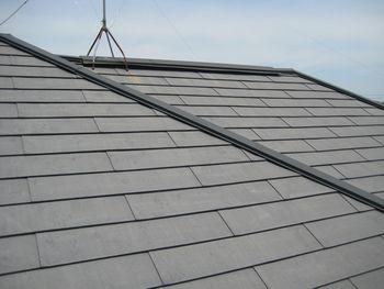 屋根塗装前2