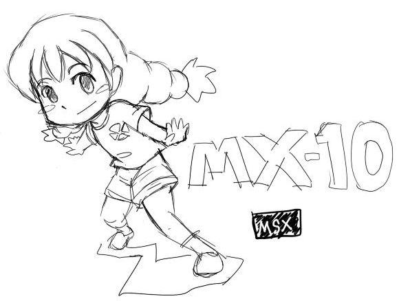 MSX擬人化